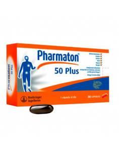PHARMATON 50 PLUS CON OMEGA-3 60 COMPRIMIDOS