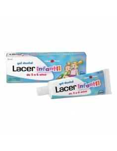 LACER INFANTIL GEL FRESA  50ML