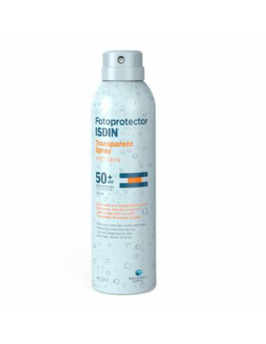 FOTOPROTECTOR ISDIN  WET SKIN SPRAY SPF 50+ 200 ML