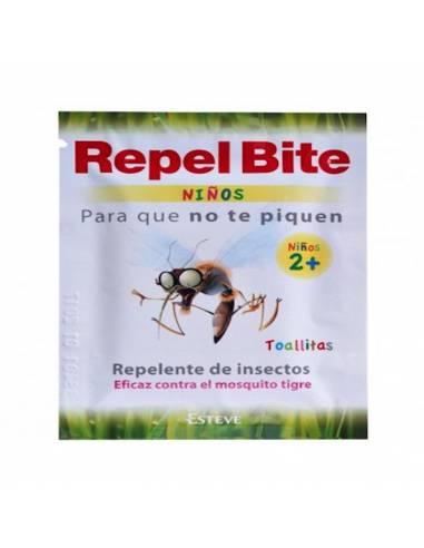 REPEL BITE NIÑOS TOALLITAS REPELENTE 16 TOALLITA