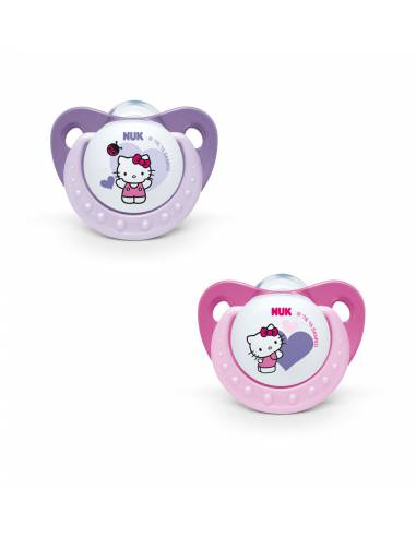 NUK CHUPETE SILICONA HELLO KITTY T2