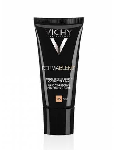 VICHY DERMABLEND FLUIDO CORRECTOR 16H Nº55 BRONCE 30 ML