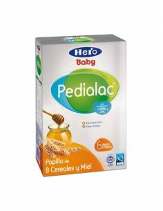 HERO BABY PEDIALAC PAPILLA 8 CEREALES 600 G