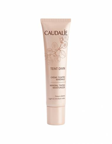 CAUDALIE TEINT DIVIN CREMA COLOR MINERAL PIEL OSCURA 30 ML