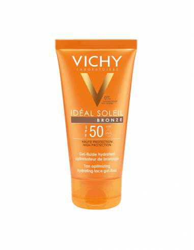 VICHY IDEAL SOLEIL GEL OPTIMIZADOR BORNCEADO 50+ SPF