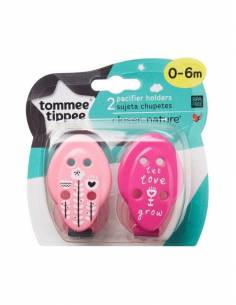 TOMMEE TIPPEE SUJETA CHUPETE 2 UNIDADES