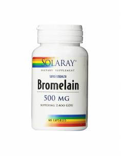SOLARAY BROMELAIN 500 MG 60 CAP