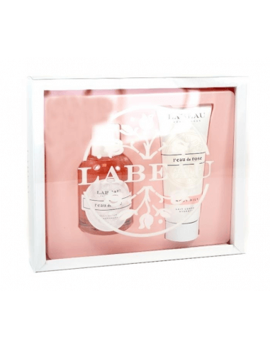 LABEAU ESTUCHE PERFUM + BODY MILK ROSE