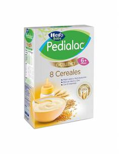 HERO BABY PEDIALAC PAPILLA 8 CEREALES 500 G
