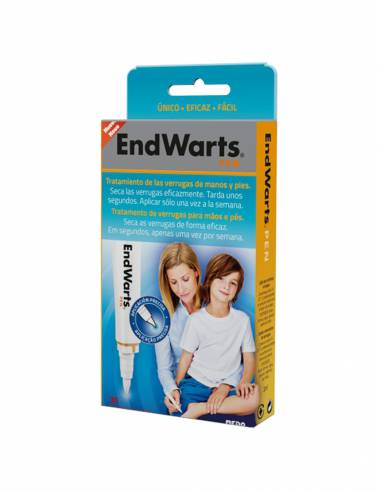 ENDWARTS PEN LAPIZ APLICADOR ANTIVERRUGAS 3 ML