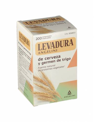 LEVADURA CERVEZA LEO 200 COMPRIMIDOS