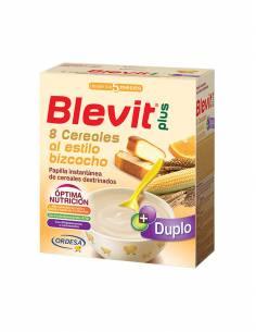 BLEVIT PLUS DUPLO 8 CEREALES BIZCOCHO 600 G