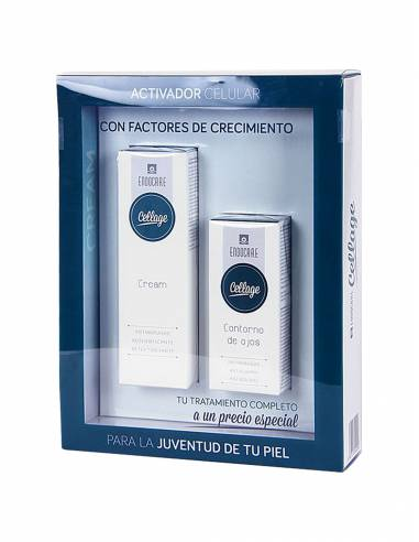 ENDOCARE CELLAGE PACK GEL CREMA 50 ML + CONTORNO DE OJOS 15 ML