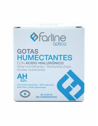 FARLINE OPTICA GOTAS LUBRICANTES CON HIALURONICO