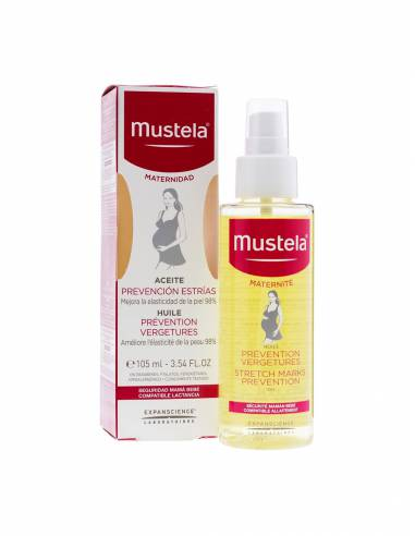 MUSTELA 9 MESES ACEITE ESTRIAS SPRAY 105 ML + ES
