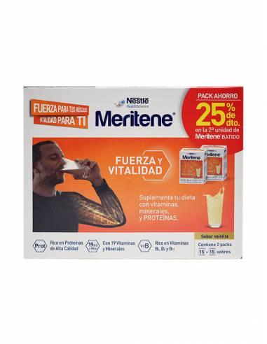 MERITENE BATIDO VAINILLA 15 SOBRES DUPLO