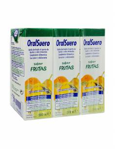 ORALSUERO PACK 3X200 ML S FRUT