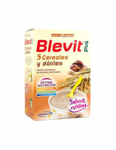 BLEVIT PLUS 5 CEREALES Y DATILES 300 G