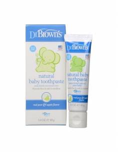 DR BROWN S PASTA DENTAL INFANTIL NATURAL MANZANA 40 G
