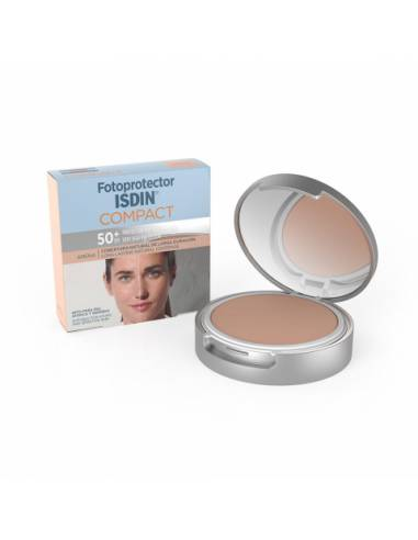 ISDIN FOTOPROTECTOR MAQUILLAJE COMPACT ARENA SPF50+