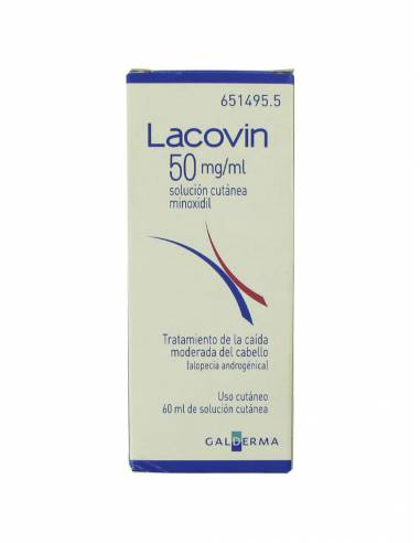 LACOVIN 50 MG-ML SOLUCION CUTANEA 1 FRASCO 60 ML