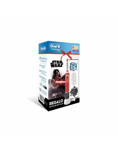 ORAL B CEPILLO ELÉCTRICO VITALITY STAGES STAR WARS + REGALO NECESER
