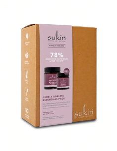 SUKIN PURELY AGELESS CREMA REJUVENECEDORA DE DÍA 120 ML + CREMA RESTAURADORA DE NOCHE 60 ML PACK