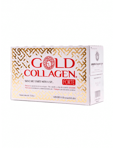 GOLD COLLAGEN FORTE 50 ML 10 FRASCOS MONODOSIS