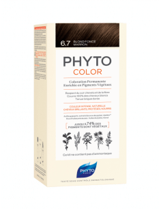 PHYTO COLOR 6.7 RUBIO OSCURO MARRÓN
