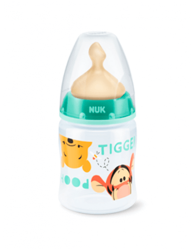 NUK BIBERÓN LÁTEX BOCA ANCHA T1 M WINNIE 150 ML