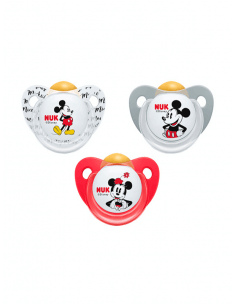 NUK CHUPETE TRENDLINE LÁTEX MICKEY MOUSE 0-6 MESES