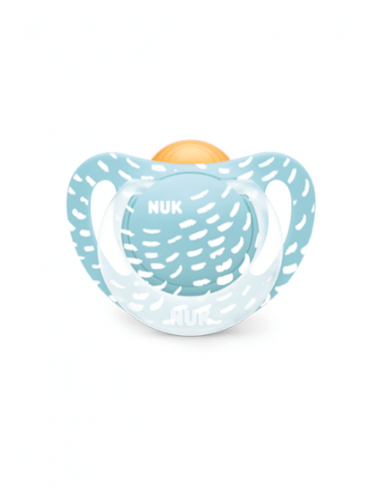 NUK GENIUS COLOR PLAY CHUPETE LÁTEX 6-18 MESES