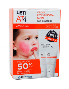 LETI AT4 CREMA REGENADORA FACIAL 50 ML DUPLO