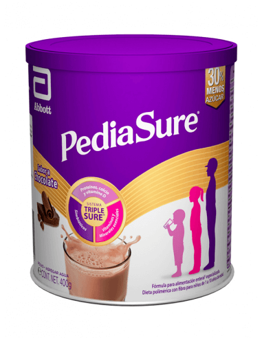 PEDIASURE SABOR CHOCOLATE POLVOS 400 G