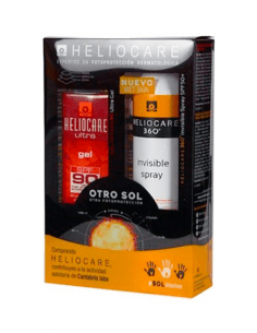 HELIOCARE GEL ULTRA SPF90 50 ML + SPRAY INVISIBLE SPF50+ 200 ML PACK