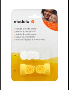 MEDELA VÁLVULA + MEMBRANAS