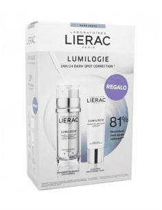 LIERAC LUMILOGIE DOBLE CONCENTRADO ANTIMANCHAS 30 ML + REGALO MASCARILLA PACK