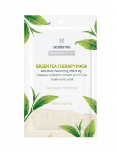 SESDERMA BEAUTY TREATS GREEN TEA THERAPY MASK