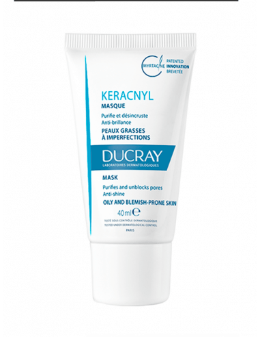 DUCRAY KERACNYL MASCARILLA TRIPLE ACCIÓN 40 ML