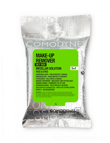 COMODYNES MAKE UP REMOVER COMBINATION OILY SKIN