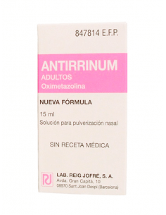 ANTIRRINUM ADULTOS 0.5 MG/ML NEBULIZADOR NASAL 15 ML