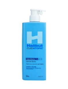 HALIBUT CUIDATOPIC GEL DE BAÑO 500 ML