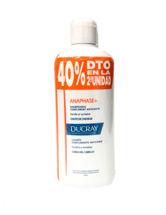 DUCRAY ANAPHASE+ CHAMPÚ DUPLO 2 X 400 ML