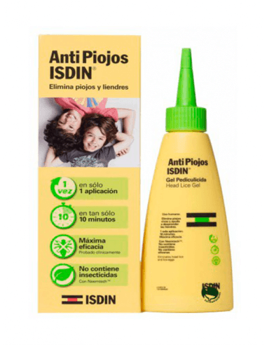 ISDIN ANTIPIOJOS GEL PEDICULICIDA 100 ML