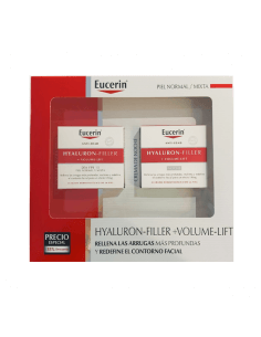 EUCERIN HYALURON-FILLER  + VOLUME-LIFT PIEL NORMAL/MIXTA COFRE