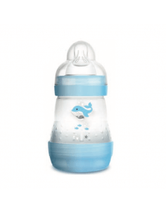 MAM BIBERÓN ANTICÓLICO EASY START AZUL +0 MESES 160 ML
