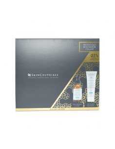 SKINCEUTICALS RENOVADOR CELULAR PHLORETIN SÉRUM 30 ML + GLYCOLYC 10 RENEW OVERNIGHT CREMA 50 ML COFRE