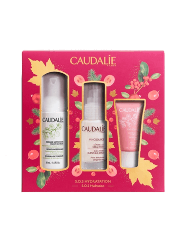CAUDALIE SOS HYDRATATION VINOSOURCE SOS SÉRUM DESALTERANTE 30 ML + REGALOS COFRE