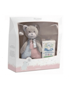 MUSTELA MUSTI COLONIA 50 ML + REGALO OSO PELUCHE PACK