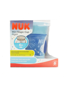 NUK MAGIC CUP MINI NIGHT +6M 160 ML 1 UNIDAD